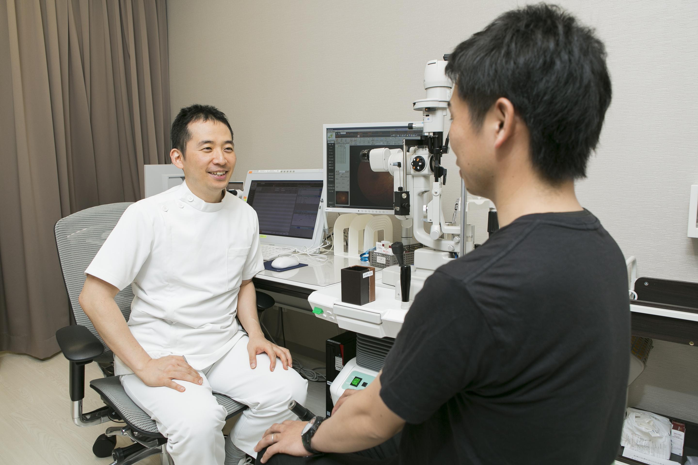 術前検査と手術説明