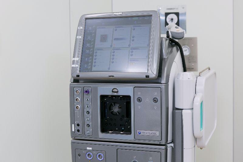白内障・網膜硝子体手術装置(コンステレーション・ビジョンシステム)